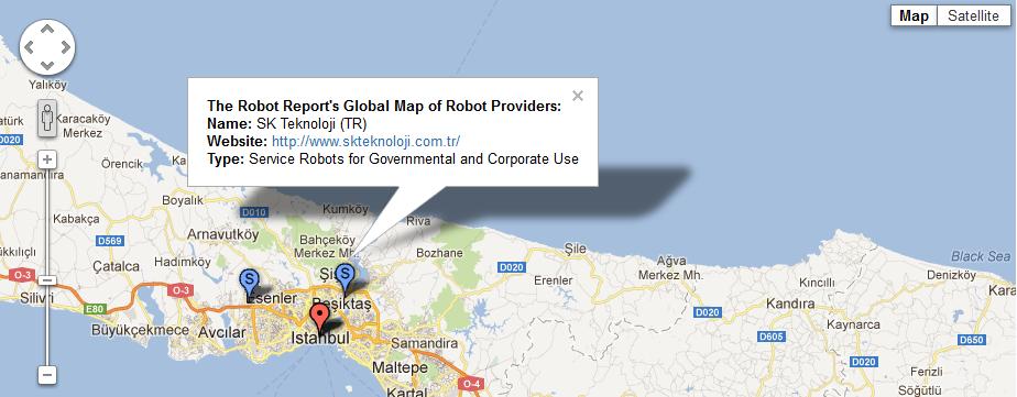 Murtaza The Robot Report'ta!
