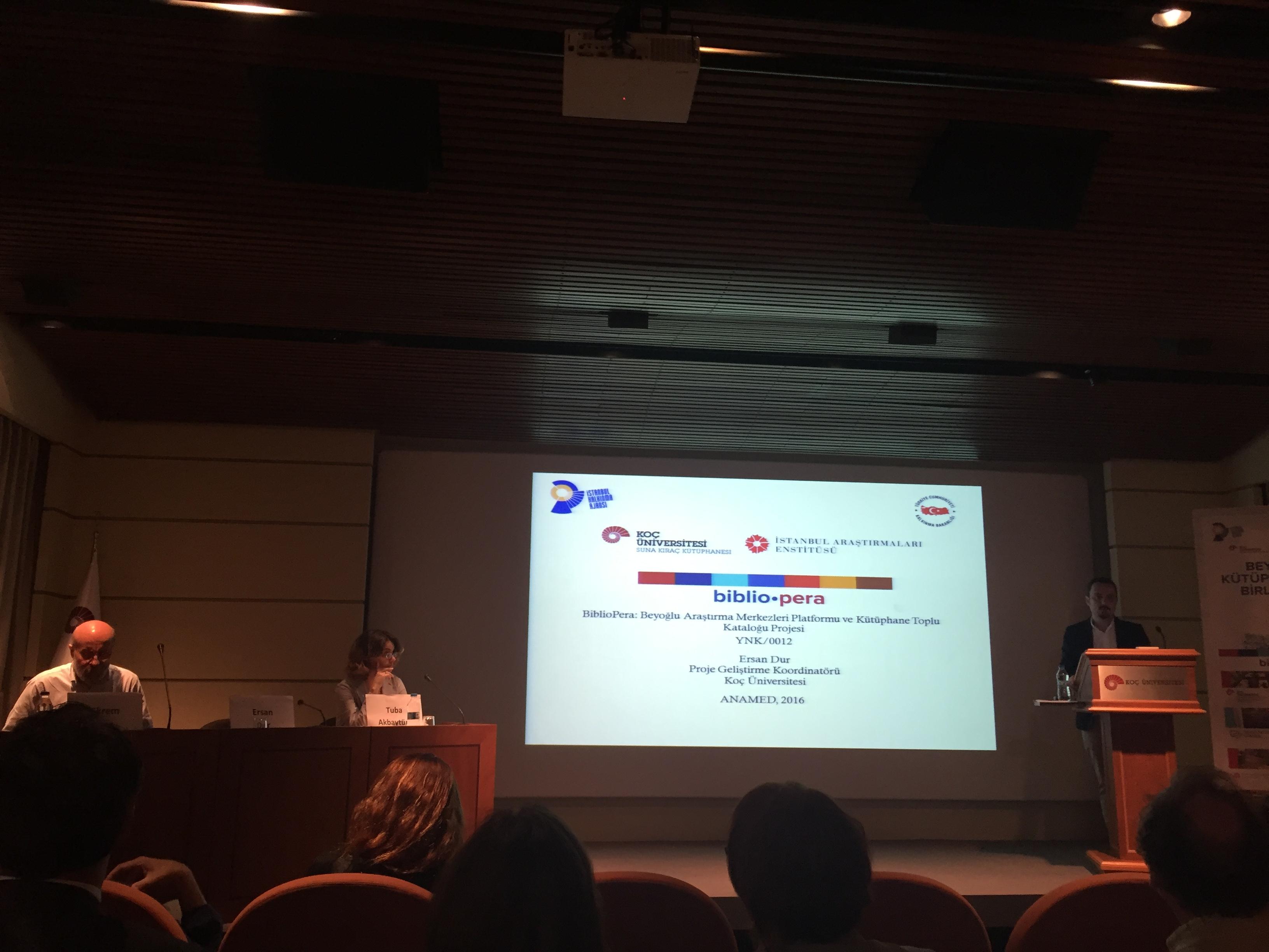 BIBLIO-PERA – Beyoğlu Araştırma Merkezleri Platformu ve Kütüphane Toplu Kataloğu Projesi Lansmanı Yapıldı