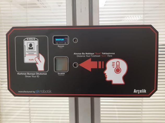 SK Robotik Corona Önlemleri: Yüksek Ateş