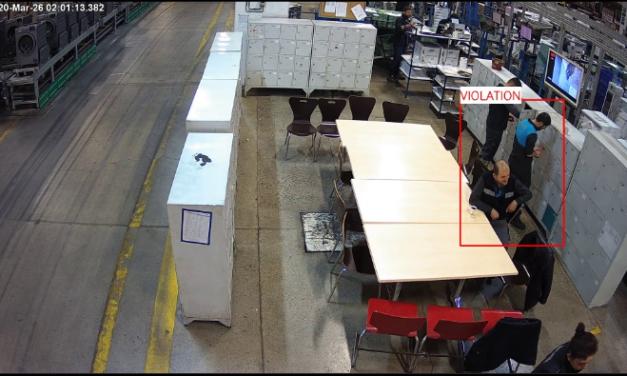 SK Robotik Corona Önlemleri: Sosyal Mesafe